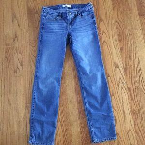 Hollister jeans. Dark wash. Size 7 regular length.